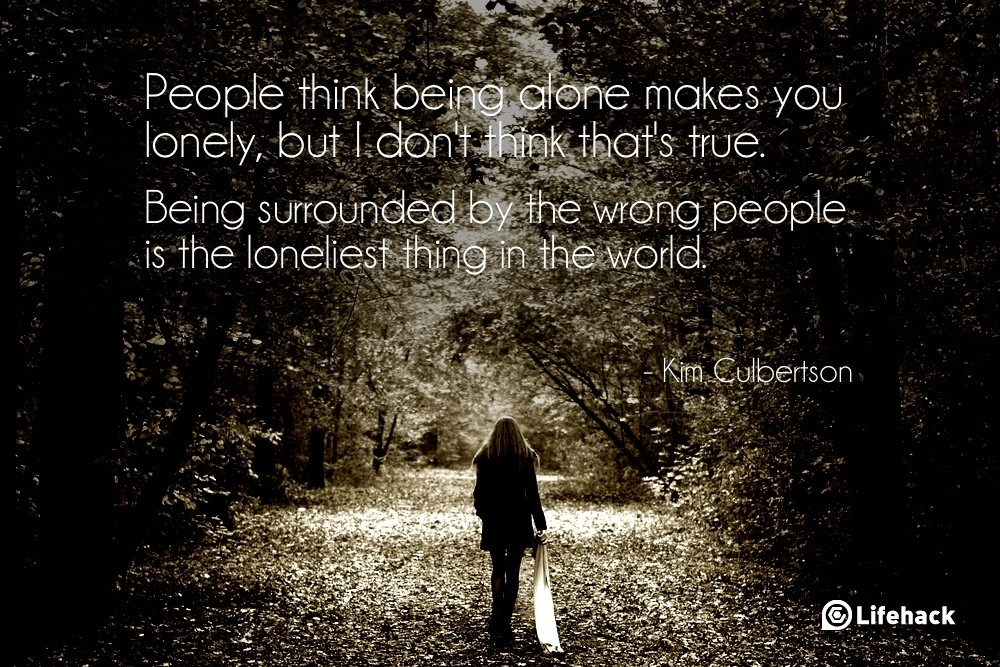 people being alone 2