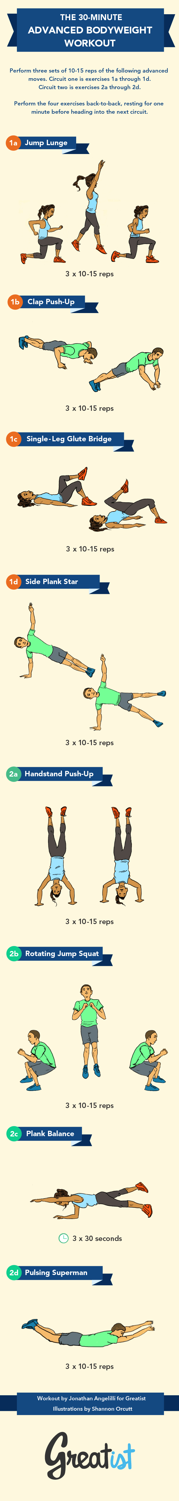 This 30-minute Bodyweight Workout is Totally Kickass
