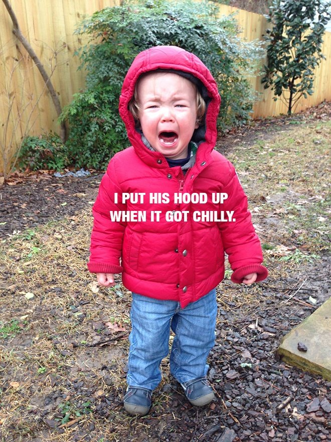 30 (Ridiculous) Reasons Why Your Kids Are Crying