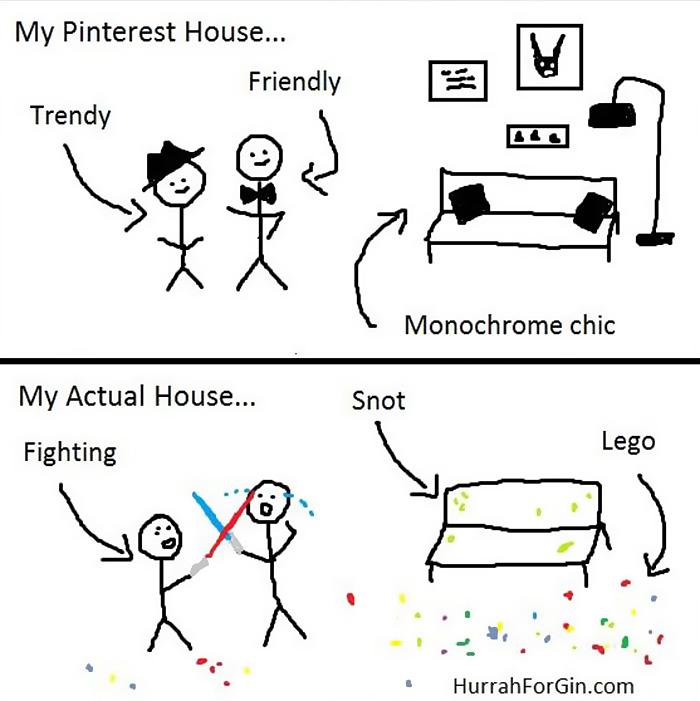 Mom Illustrates Her Parenting Struggles In Cartoons