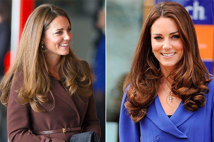 Gaya rambut Kate Middleton: Chelsea BLow Dry
