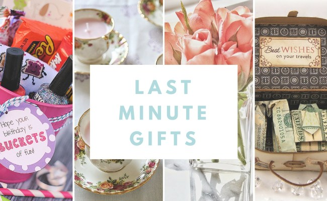 How To Make Inexpensive And Fashionable Last Minute Gifts