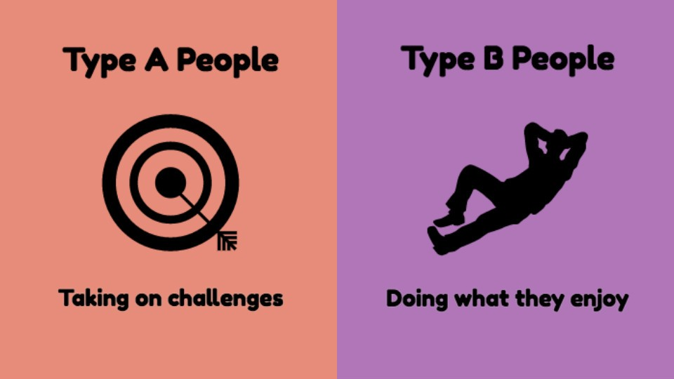 8 Illustrations Capturing The Differences Between Type A And Type B Personalities
