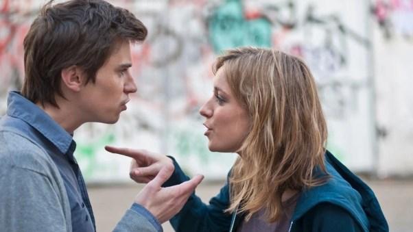 Risultati immagini per couple arguing