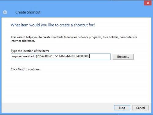 Type-Shortcut-Link