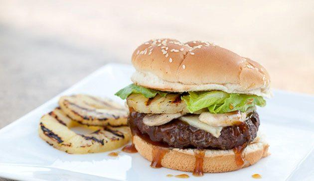 Burger με Kuragoy