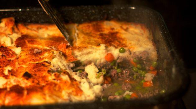 غذاهای کوچک شده: گوشت گاو ولینگتون با گوشت چرخ شده