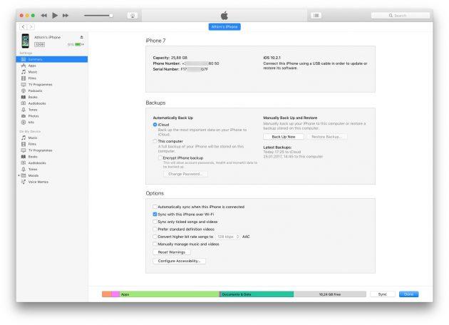 Түпнұсқа iPhone-ны жалған: iTunes-тен қалай ажыратуға болады
