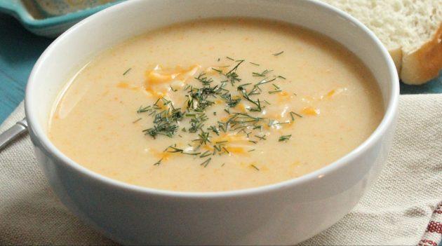 Сырно-овощной суп от Джейми Оливера