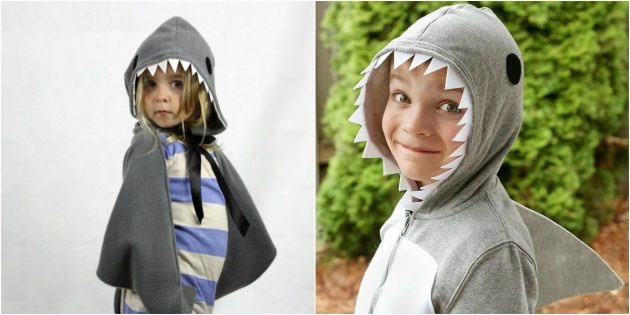 Comment faire un costume de requin