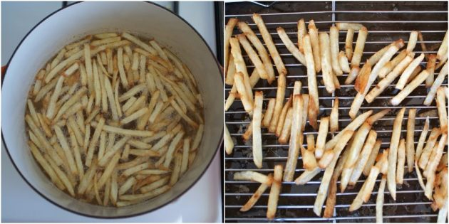 Jak gotować frytki na talerzu