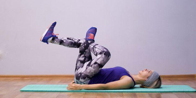 упражнения на гибкость: растяжка грушевидной мышцы