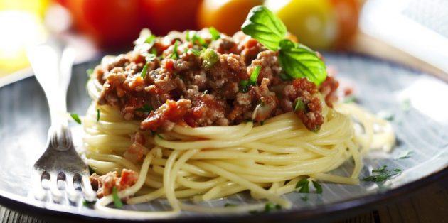 Przepisy Pasta: Spaghetti Bolognese