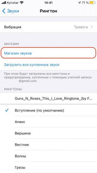 IPhone-да қоңырау үні: «Дыбыс дүкенін» енгізіңіз