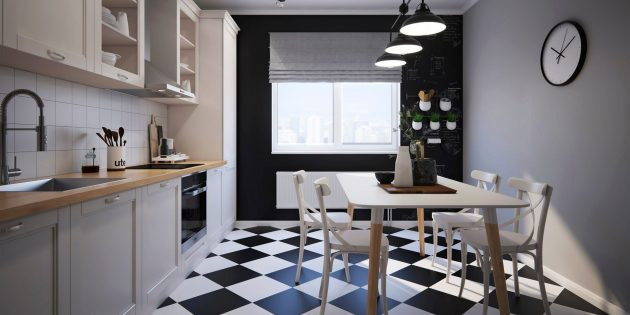 Проект кухни Flatplan «Крис Гарднер»