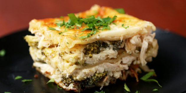 Receita de lasanha com abóbora, queijo e nozes