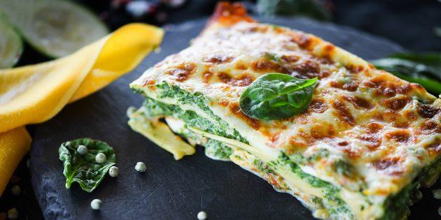Rețete: Lasagna cu tocată și brânză