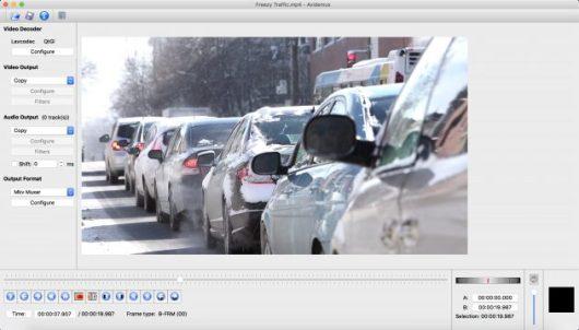 Free Video Editors: Avidemux
