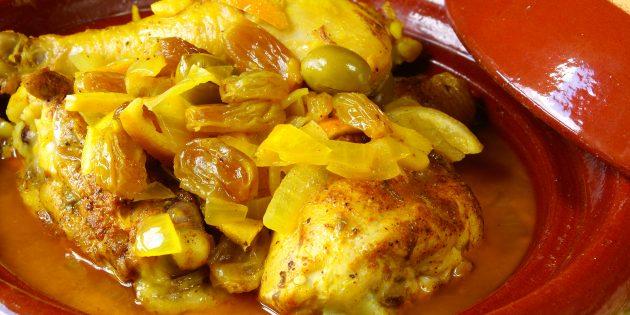 Sal de frango inteiro no forno