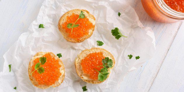 Hvordan pickle rosa laks kaviar uten vann
