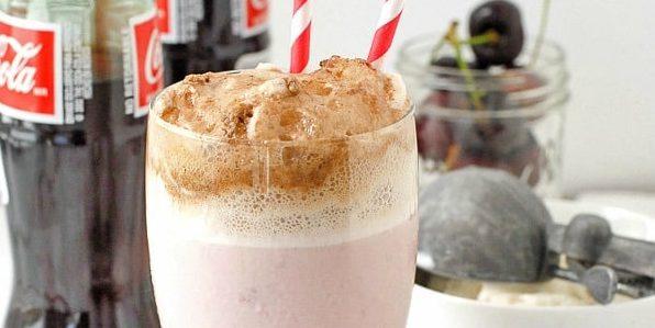 Молочный коктейль с колой
