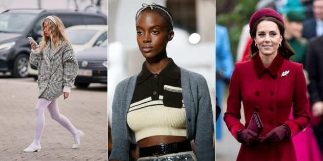 Модные аксессуары 2019года: ободки