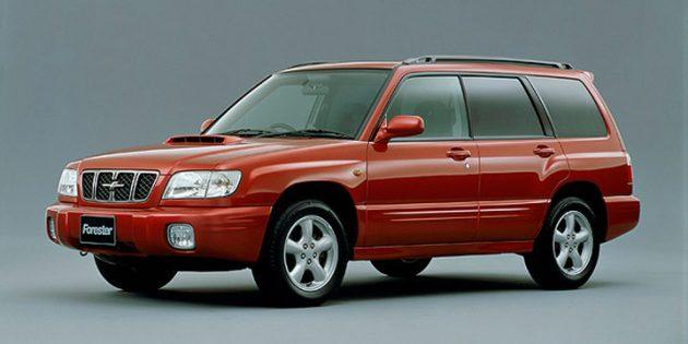 Subaru Forester, первое поколение