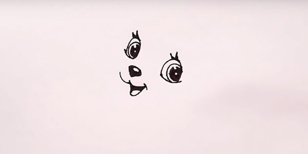 Tinta direita o segundo olho
