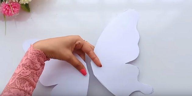 Carta per le tue mani: tagliare la figura