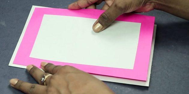 Thiệp chúc mừng cho bàn tay của bạn: Tạo cơ sở của bưu thiếp