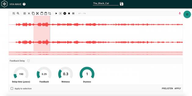 Áudio Hya-Wave