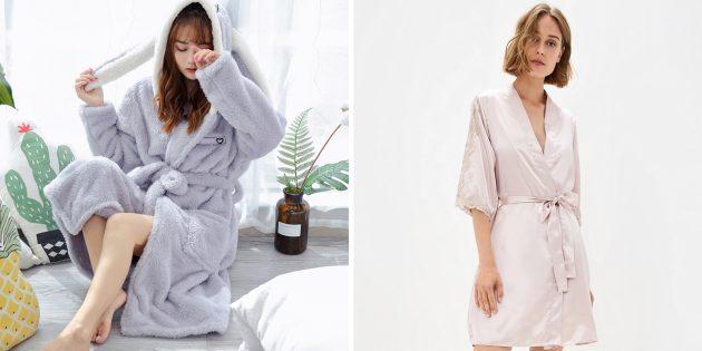 誕生日のためにママを与えるもの:美しいバスローブまたはパジャマセット