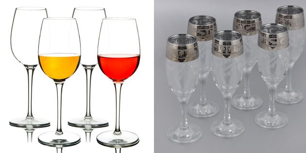 誕生日のためにママを与えるもの:美しいカップやメガネのセット