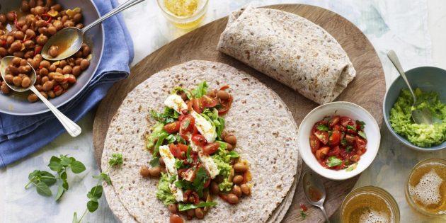 Фета, авокадо және әкпен рецепто