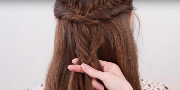 Начните плести косу