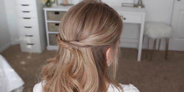 Причёски на длинные волосы: добавьте другую прядь