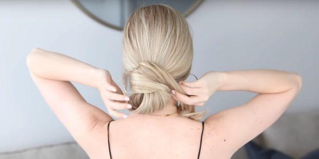 Причёски на длинные волосы: заведите волосы вбок
