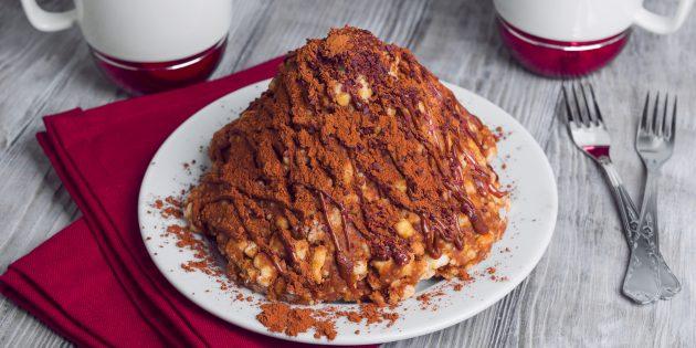 """Công thức: Bánh """"Antheill"""" với các loại hạt ở caramel"""