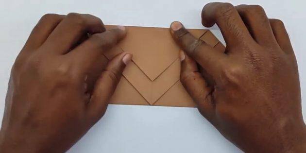 Zarf nasıl yapılır: arka açı