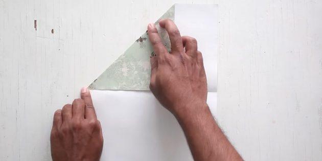 Конвертті қалай жасауға болады: жоғарғы бұрышты тексеріңіз