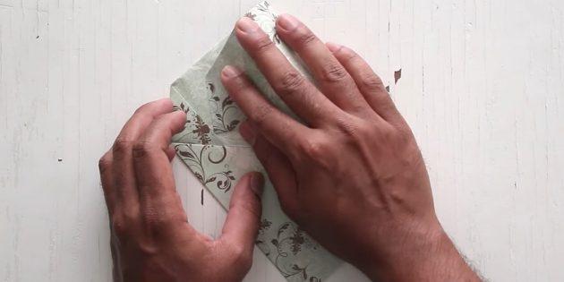 Zarf nasıl yapılır: Vanayı sabitleyin