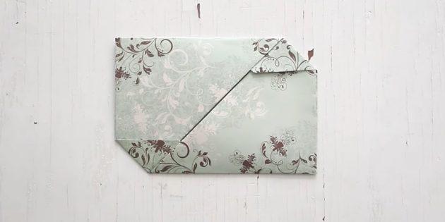 Klipsler ile ortaya çıkan bir zarf nasıl yapılır?