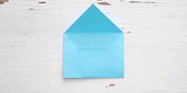 Классикалық конвертті өз қолыңызбен қалай жасауға болады