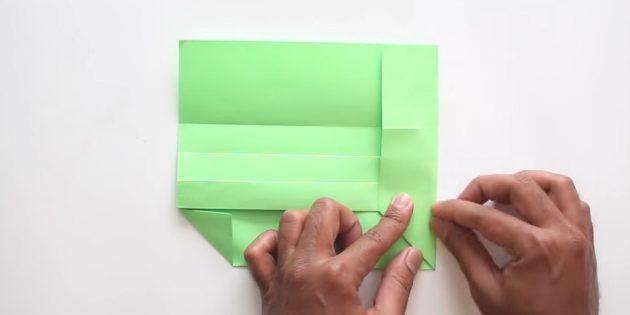 Өз қолыңызбен конверт желімсіз: оң жақты жасаңыз