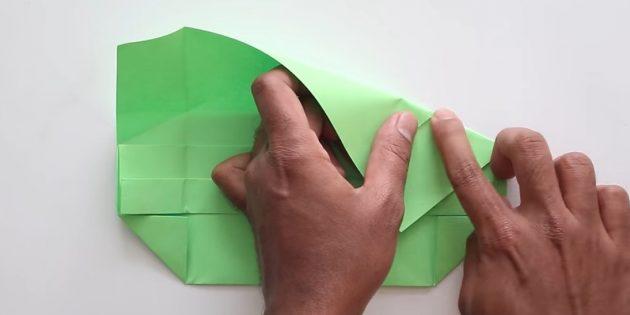 Tutkal olmadan kendi ellerinizle zarf: Sağ tarafı oluşturun ve bükülmeyi sıfırlayın
