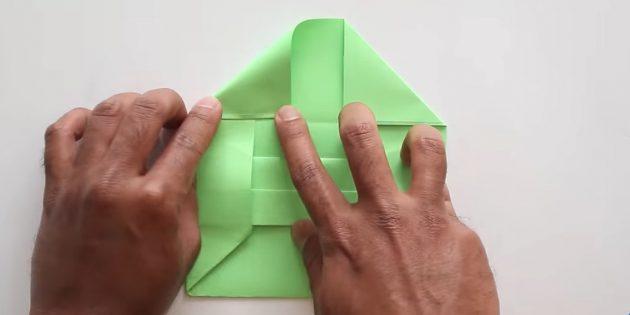 Tutkalsız ellerinizle zarf: Vana şeklini verin
