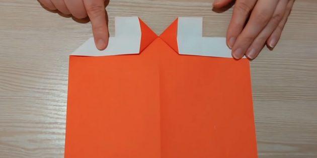Разогните бумагу