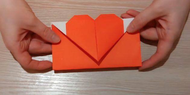 Origami Tekniğinde Rakamlarla Zarf Nasıl Yapılır?