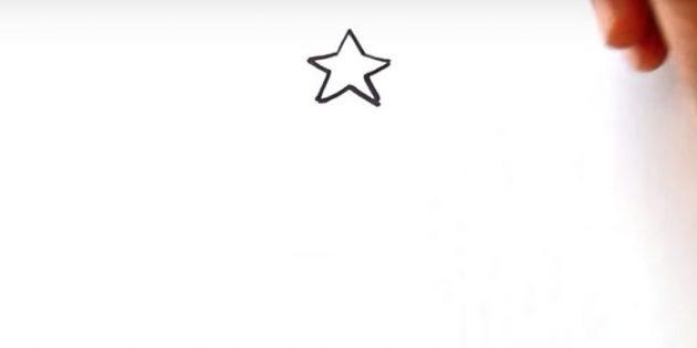 스타를 그립니다
