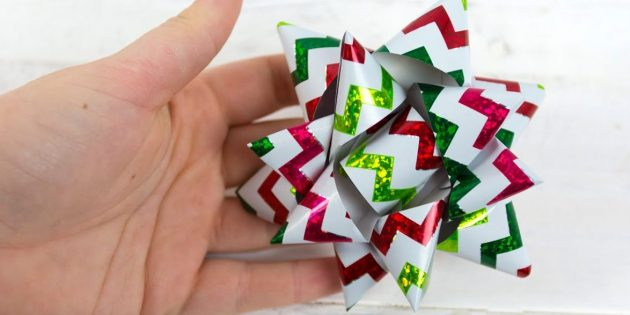 How to make a voluminous angular bow